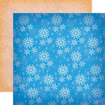 Carta Bella Paper - A Very Merry Christmas Collection - 12 x 12 Double Sided Paper - Winter Snowflakes