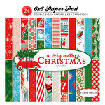 Carta Bella Paper - A Very Merry Christmas Collection - 6 x 6 Paper Pad