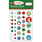 Carta Bella Paper - A Very Merry Christmas Collection - Decorative Brads
