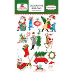 Carta Bella Paper - A Very Merry Christmas Collection - Rub Ons