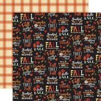 Carta Bella Paper - Welcome Autumn Collection - 12 x 12 Double Sided Paper - Fall Sweet Fall