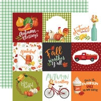Carta Bella Paper - Welcome Autumn Collection - 12 x 12 Double Sided Paper - 4 x 4 Journaling Cards