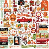 Carta Bella Paper - Welcome Autumn Collection - 12 x 12 Cardstock Stickers - Elements