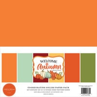 Carta Bella Paper - Welcome Autumn Collection - 12 x 12 Paper Pack - Solids