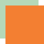 Carta Bella Paper - Welcome Autumn Collection - 12 x 12 Double Sided Paper - Orange