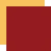 Carta Bella Paper - Welcome Autumn Collection - 12 x 12 Double Sided Paper - Red