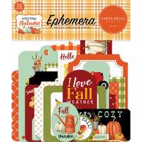 Carta Bella Paper - Welcome Autumn Collection - Ephemera