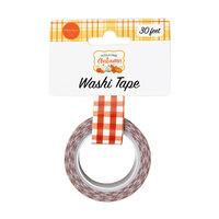 Carta Bella Paper - Welcome Autumn Collection - Washi Tape - Autumn Plaid