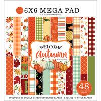 Carta Bella Paper - Welcome Autumn Collection - 6 x 6 Mega Paper Pad