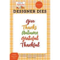Carta Bella Paper - Welcome Autumn Collection - Designer Dies - Thankful Autumn