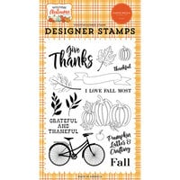 Carta Bella Paper - Welcome Autumn Collection - Clear Photopolymer Stamps - I Love Fall Most