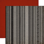 Carta Bella - Work Hard Play Hard Collection - 12 x 12 Double Sided Paper - Tire Tracks