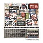Carta Bella - Work Hard Play Hard Collection - 12 x 12 Cardstock - Elements