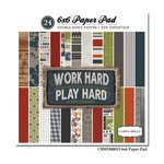 Carta Bella - Work Hard Play Hard Collection - 6 x 6 Paper Pad