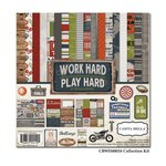 Carta Bella - Work Hard Play Hard Collection - 12 x 12 Collection Kit