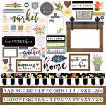 Carta Bella Paper - Welcome Home Collection - 12 x 12 Cardstock Stickers