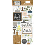 Carta Bella Paper - Welcome Home Collection - Chipboard Stickers