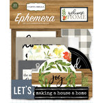 Carta Bella Paper - Welcome Home Collection - Ephemera