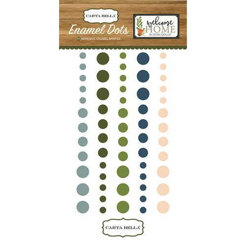 Carta Bella Paper - Welcome Home Collection - Enamel Dots