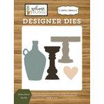 Carta Bella Paper - Welcome Home Collection - Designer Dies - Home Decor