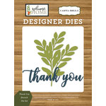 Carta Bella Paper - Welcome Home Collection - Designer Dies - Thank You Branch