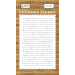 Carta Bella Paper - Welcome Home Collection - Clear Acrylic Stamps - Shiplap