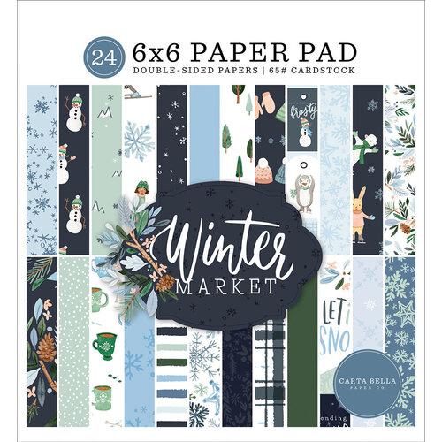 Carta Bella Paper - Winter Market Collection - 6 x 6 Paper Pad