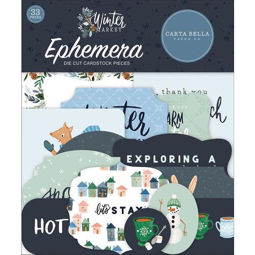 Carta Bella Paper - Winter Market Collection - Ephemera