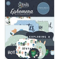 Carta Bella Paper - Winter Market Collection - Ephemera