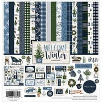 Carta Bella Paper - Welcome Winter Collection - 12 x 12 Collection Kit