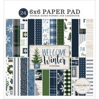 Carta Bella Paper - Welcome Winter Collection - 6 x 6 Paper Pad