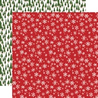 Carta Bella Paper - Happy Christmas Collection - 12 x 12 Double Sided Paper - Winter Wonderland
