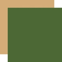 Carta Bella Paper - Happy Christmas Collection - 12 x 12 Double Sided Paper - Light Green