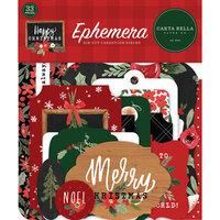 Carta Bella Paper - Happy Christmas Collection - Ephemera