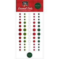 Carta Bella Paper - Happy Christmas Collection - Enamel Dots