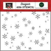 Carta Bella Paper - Happy Christmas Collection - Stencils - Tis The Season