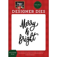 Carta Bella Paper - Happy Christmas Collection - Designer Dies - Merry and Bright