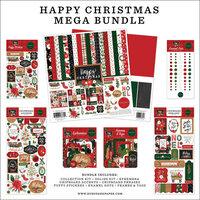Carta Bella Paper - Happy Christmas Collection - 12 x 12 Mega Bundle