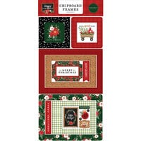 Carta Bella Paper - Happy Christmas Collection - Chipboard Embellishments - Frames