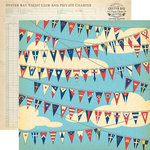 Carta Bella Paper - Yacht Club Collection - 12 x 12 Double Sided Paper - Nautical Flags