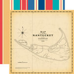 Carta Bella Paper - Yacht Club Collection - 12 x 12 Double Sided Paper - Nantucket