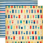 Carta Bella Paper - Yacht Club Collection - 12 x 12 Double Sided Paper - Swimsuits