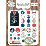 Carta Bella Paper - Yacht Club Collection - Decorative Brads