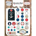 Carta Bella Paper - Yacht Club Collection - Decorative Brads
