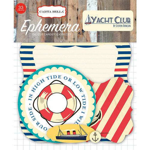 Carta Bella Paper - Yacht Club Collection - Ephemera