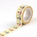 Carta Bella Paper - Yacht Club Collection - Decorative Tape - Anchors