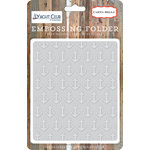 Carta Bella Paper - Yacht Club Collection - Embossing Folder - Anchors