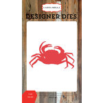 Carta Bella Paper - Yacht Club Collection - Designer Dies - Crab