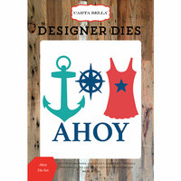 Carta Bella Paper - Yacht Club Collection - Designer Dies - Ahoy