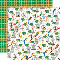 Carta Bella Paper - Zoo Adventure Collection - 12 x 12 Double Sided Paper - Aviary